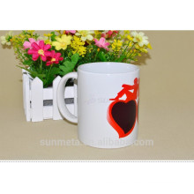 heat press magic mug 11oz Make Hot Water Color Changing Mug